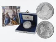 Vatikan 10 € Pontifikatsjahr 2003 PP, Silber