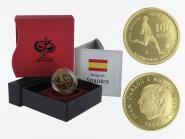 Spanien 100 Euro Gold, 2003, Fußball WM 2006