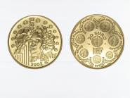 Frankreich 20 Euro Gold, 2002, Europa