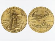 USA 50 Dollar 1 oz Gold Eagle 1992-2013