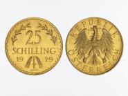 Österreich 1. Republik 25  Schilling  1929