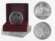 Österreich 10 Euro Silber, 2002, Schloss Ambras PP