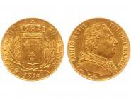 Frankreich 20 Fr. Louis XVIII 1814 (A) Paris