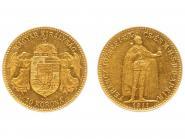 Ungarn 10 Korona Joseph I. 1911