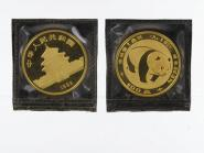 China 100 Yu  Panda 1983, 1 Unze Feingold