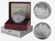Österreich 10 Euro Silber, 2004, Schloss Artstetten PP