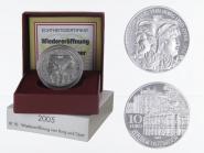 Österreich 10 Euro Silber, 2005, Burg + Oper PP