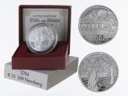 Österreich 10 Euro Silber, 2006, Stift Nonnberg PP