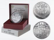 Österreich 10 Euro Silber, 2007, Stift Melk PP