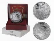 Österreich 10 Euro Silber, 2009, Basilisk PP
