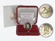 Monaco original 2 € Lucien I., 2012 PP in Originalbox