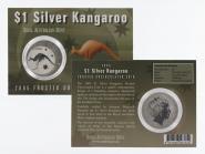 Australien 1$ Känguru 2005 Blister, 1 oz  Silber