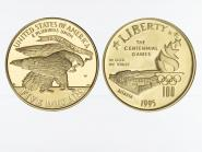 USA 5 $  Gold, Stadion 1995 (W), PP