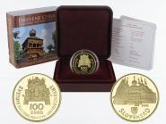 Slowakei 100 Euro Gold, 2010, Karpaten