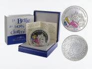 Frankreich 1,5 €  Dornröschen 2003 PP, Silber