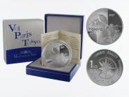 Frankreich 1,5 €  Air France 2003 PP, Silber