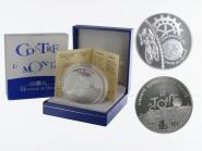 Frankreich 1,5 €  Zeitfahren 2003 PP, Silber