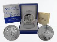 Frankreich 1,5 €  Zieleinfahrt 2003 PP, Silber