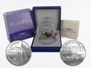 Frankreich 1,5 €  Biathlon 2005 PP, Silber