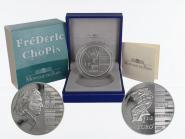 Frankreich 1,5 €  Frederic Chopin 2005 PP, Silber