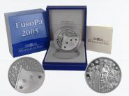Frankreich 1,5 €  Europa 2005 PP, Silber