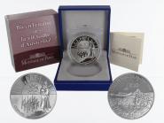 Frankreich 1,5 € Austerlitz 2005 PP, Silber