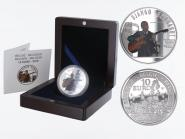 Belgien 10 €  Django Reinhardt 2010 PP, Silber