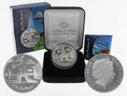 Australien 1$ Känguru 2008, 1 oz  Silber proof (B+C)