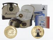 Frankreich 10 Euro Gold, 2005,  Hello Kitty Japanausgabe