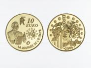 Frankreich 10 Euro Gold, 2006,  Europa  R. Schumann
