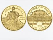Österreich 1000 Sh. Gold, 1993,  Maria Theresia