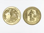 Frankreich 20 Euro Gold, 2004,  Säerin