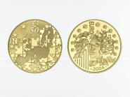 Frankreich 50 Euro Gold, 2004,  Europa