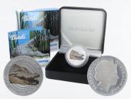 Australien 1$ Saltwater Crocodile (RAM), Bindi 2013, PP