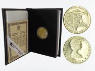 Kanada Hurone + Missionar 100 Dollars 1989,  proof