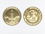 Frankreich 20 Euro Gold, 2007, König Artus