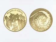 Frankreich 20 Euro Gold, 2003,  Hänsel + Gretel