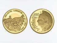 Belgien 100 Euro Gold, Unabhängigkeit  2005, original