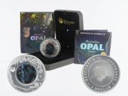 Australien 1$ Opal-Serie Koala 2012, 1 oz  Silber