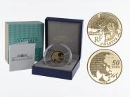 Frankreich 50 Euro Gold, 2011,  Cosette