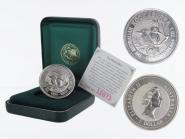 Australien 1$ Kookaburra 1994, 1oz Silber, Privy Games