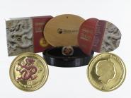 Australien 25 $ Lunar II  Drache, 1/4 Unze  2012, PP (B+C)