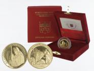 Vatikan 20 € Gold, 2004, David und Goliath original