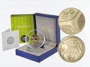 Frankreich 50 Euro Gold, 2012, Pyramide