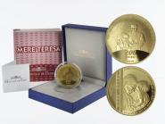 Frankreich 200 Euro Gold, 2010, Mutter Theresa