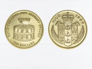 Niue 250 Dollars Davis Cup 1989, proof