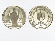 Andorra 25 D. Bischof von Urgell 1994, PP