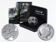 Neuseeland 1$ Kiwi 2013, 1 oz  Silber proof (B+C)