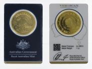 Australien 100 $ Känguru Royal Mint, Veriscan Blister, 1 oz 2017
