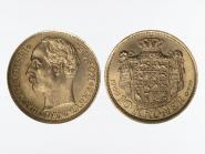 Dänemark Frederik VIII 1909, 10 Kroner Gold